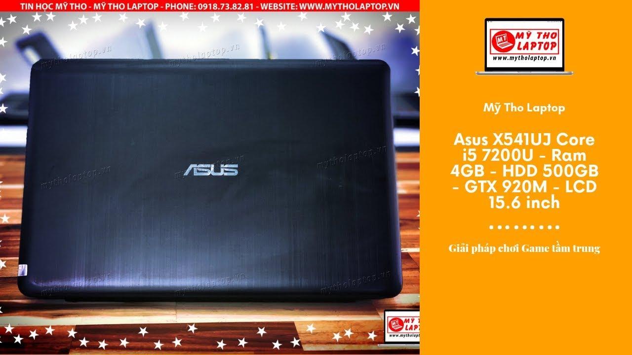 Đánh giá Asus X541UJ Core i5 7200U - Ram 4GB - HDD 500GB - GTX 920M - LCD 15.6 inch