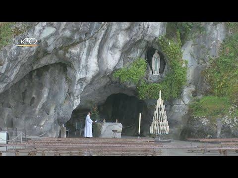 Chapelet à Lourdes du 7 avril 2020