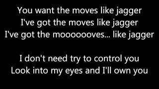 Gambar cover Maroon 5 - Moves Like Jagger [Lyrics]