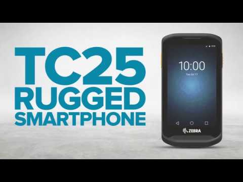 Zebra TC25 Rugged Smartphone video thumbnail