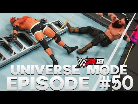 WWE 2K19 | Universe Mode - 'SUMMERSLAM PPV!' (PART 4/4) | #50