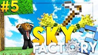 Minecraft SkyFactory 3 - JETPACK FLYING  - Modded Survival #5