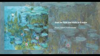 Duet for Flute and Violin in G major
