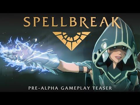 Spellbreak Pre-alpha Teaser - Epic Magic Combat in a Battle Royal / RPG