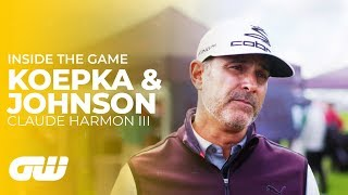 What Brooks Koepka and Dustin Johnson Are Like Behind the Scenes | Claude Harmon III | Golfing World - dooclip.me