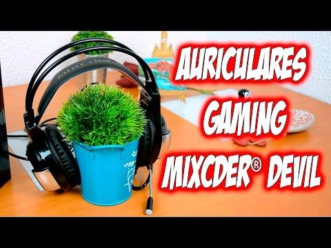 Auriculares para Gamer Mixcder Devil