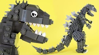 How to Build LEGO Godzilla   Custom LEGO Kaiju