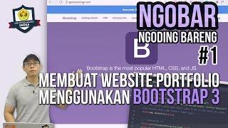 NGOBAR #1 : Membuat Website Portfolio dengan Bootstrap 3