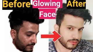 How To Get Glowing Skin For Men|Hindi|How to get glowing skin naturally at home|चहरे का ग्लो|