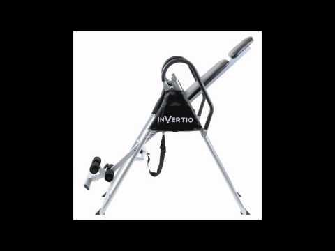 Invertio Premium Folding Inversion Table w/ Padded Backrest