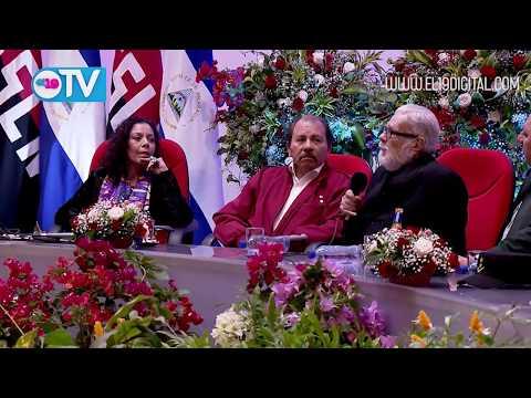Daniel y Rosario presidieron homenaje al General Sandino