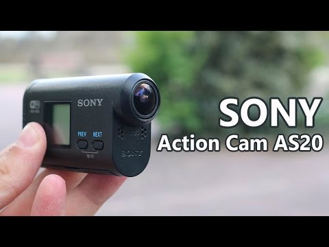 Sony Action Cam AS20, review en español
