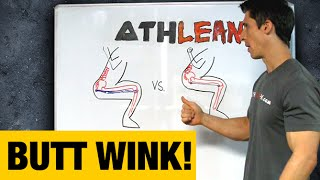 """The """"Butt Wink"""" Squat Flaw (What Causes It and How to Fix It!)"""