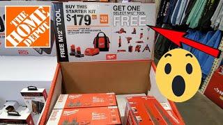 Buy 1 Get 1 FREE Milwaukee DeWalt POWER Tool Deals Shopping @ Home Depot