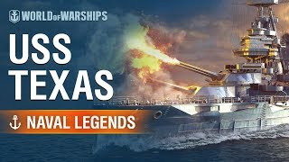 [World of Warships] Naval Legends: USS Texas