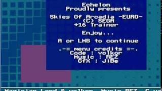 """Echelon """"Skies of Arcadia"""" Cracktro/Intro"""