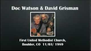CGUBA199<b>Doc Watson</b> & David Grisman 11/03/1989