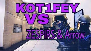Critical ops || KOT1FEY VS ZESPIRS & Arrow