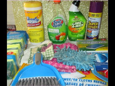 My FAVORITE DOLLAR TREE Cleaning Products!!