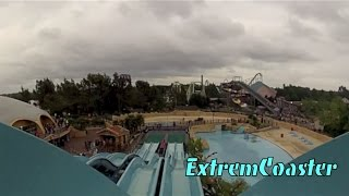 preview picture of video 'Depth Charge  - On & Off Ride - POV - Thorpe Park 2013 - (HD)'