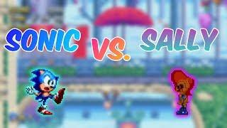 Sonic vs. Sally - Mania.exe  Sonic Mania mods