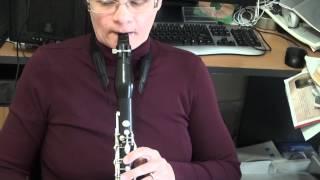 Jazz clarinet techniques Pitch bend slides glissandi and vibrato