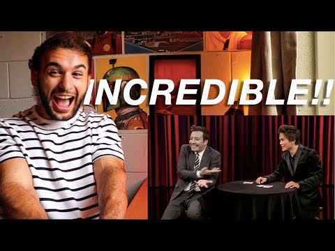 Magician Reacts to SHIN LIM ON JIMMY FALLON