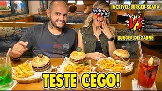 FIZEMOS UM TESTE CEGO: Incrível Burger Seara VS Burger de Carne