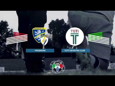Frosinone VS Totti Sporting Club | Highlights