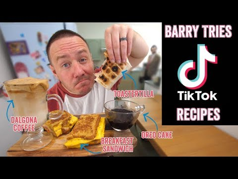 4 Viral TikTok recipes put to the test | Barry tries #26
