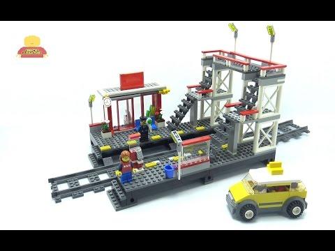 Vidéo LEGO City 7937 : La gare