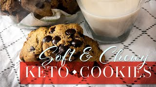 chocolate chip cookies with coconut flour keto