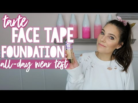 Face Tape Foundation by Tarte #3