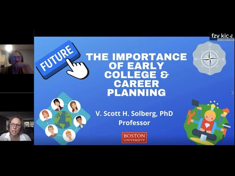 The MEFA Institute: The Importance of Early College & Career Planning