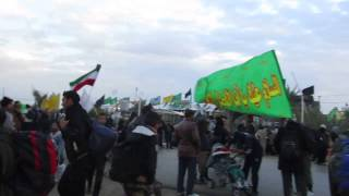 preview picture of video 'Walk Najaf to Karbala'