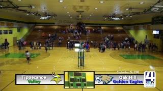 Tippecanoe Valley Volleyball vs Oak Hill