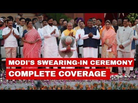 Watch full coverage of PM Modi's swearing-in ceremony from Rashtrapati Bhavan