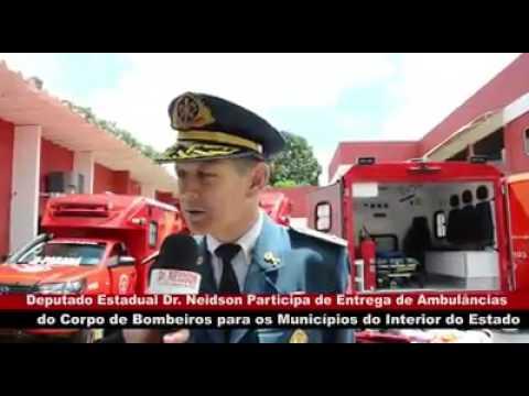 DR. NEIDSON PRESTIGIA EVENTO NO CORPO DE BOMBEIROS PARA ENTREGA DE VIATURAS E EQUIPAMENTOS PARA GUAJARÁ-MIRIM E OUTROS MUNICÍPIOS