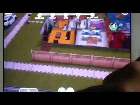 Sims freeplay-a tour to my town and preteens house.
