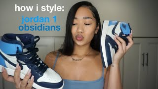 HOW I STYLE: Air Jordan 1 Obsidians UNC