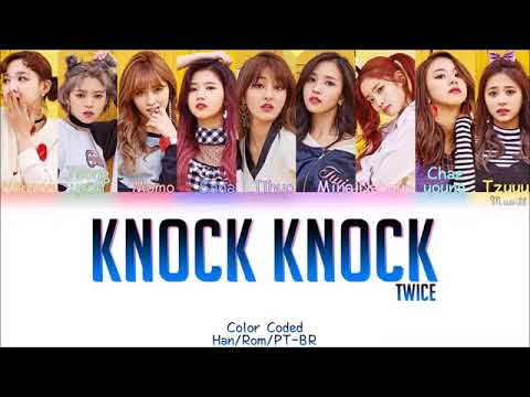 Twice knock knock song