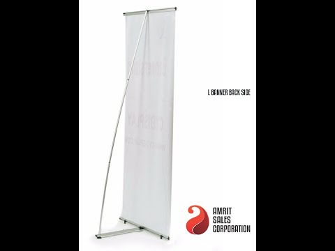 Banner Stand L Model