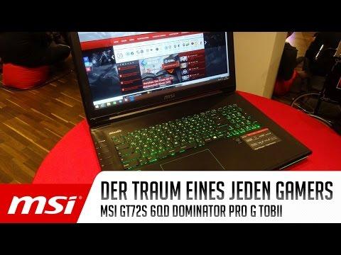 Gaming Notebook vorgestellt: MSI GT72S 6QD Dominator Pro G Tobii