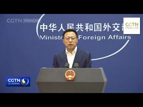 La Chine condamne les deux attentats-suicides à l'aéroport de Kaboul La Chine condamne les deux attentats-suicides à l'aéroport de Kaboul