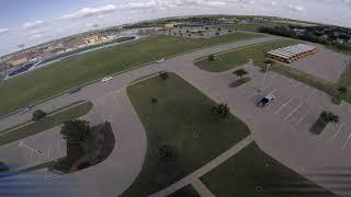 School Parking Lot FPV Freestyle Practice II