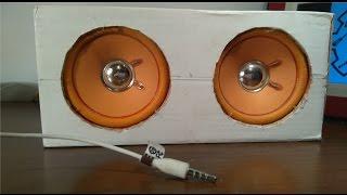 Jak zrobić głośnik do telefonu \ wieży bez układów wzmacniających + ciekawostki