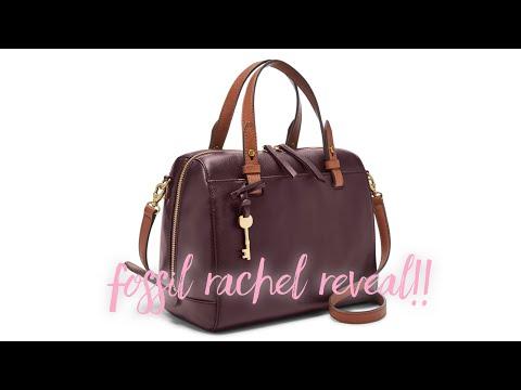 Fossil Rachel Satchel Reveal| Fossil Sydney Satchel Dupe