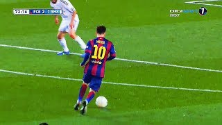The Day Cristiano & Madrid Celebrated Too Early against Barcelona & Messi ¡! ||HD||
