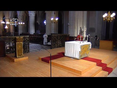 Messe à Saint-Germain-L'Auxerrois du 28 septembre 2021