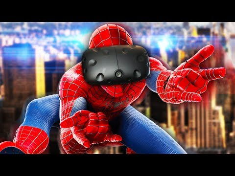 SPIDER-MAN VR! | Spider-Man Homecoming VR Experience (HTC Vive) (видео)